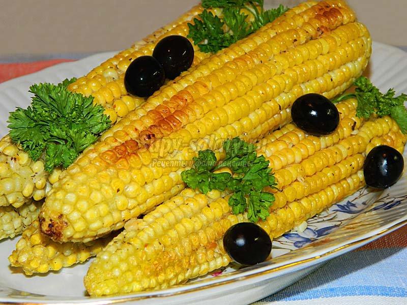 кукуруза запеченная в фольге