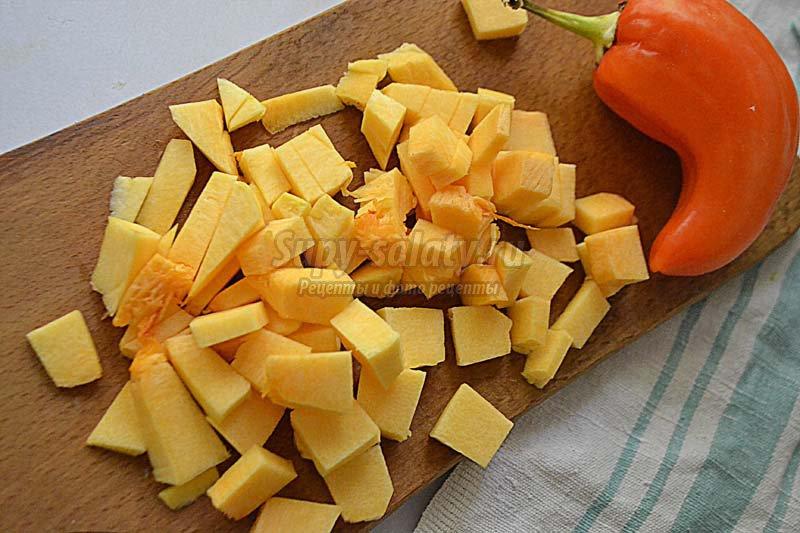 борщ с фасолью рецепт