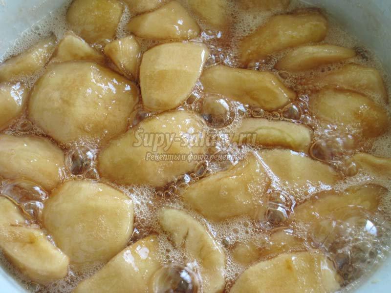 сухое варенье из яблок рецепт