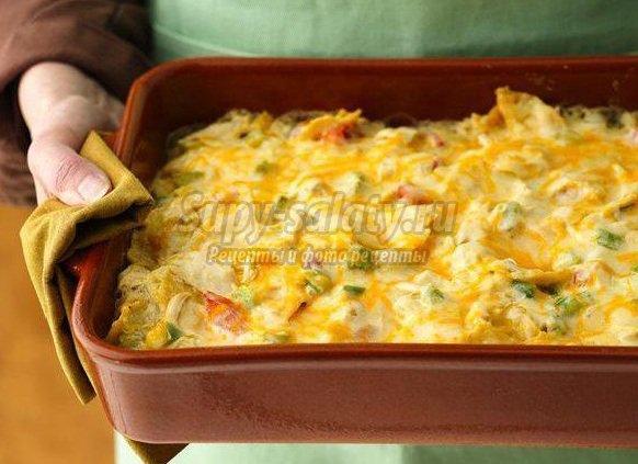 запеканка из курицы: пошаговые рецепты с фото