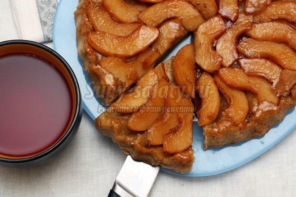 Яблочный тарт татен – вкусный десерт