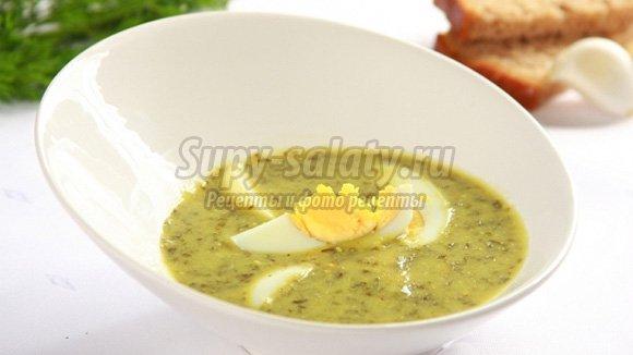 суп с яйцом: золотые рецепты с фото.