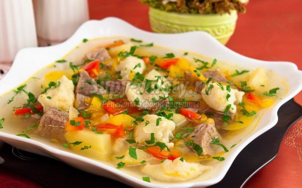 Суп с клецками: ТОП-10 рецептов