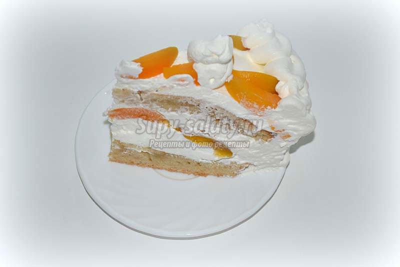 вкусный торт со сливками рецепты с фото