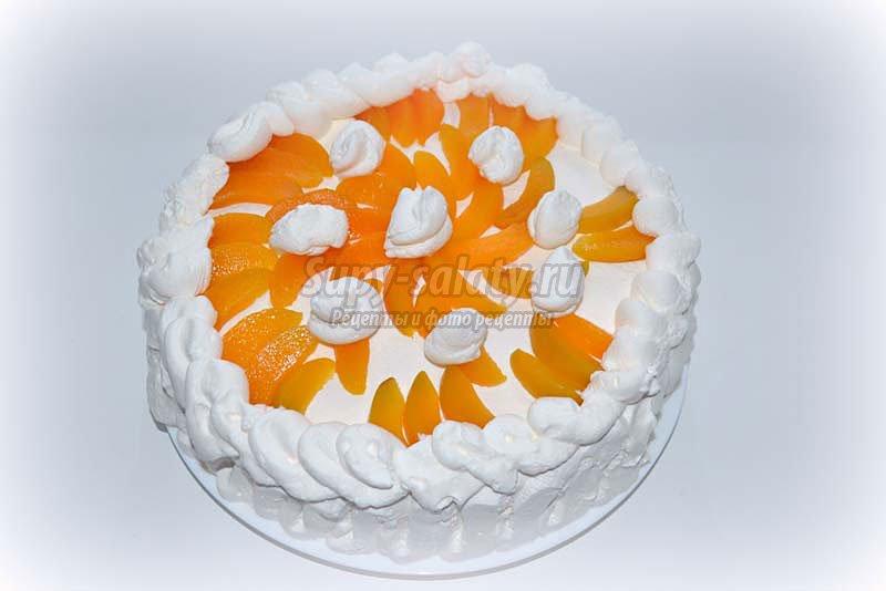 абрикосовый торт рецепт с фото