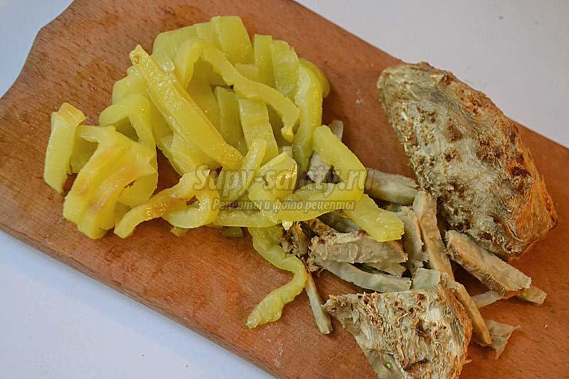 салат со стручковой фасолью рецепт