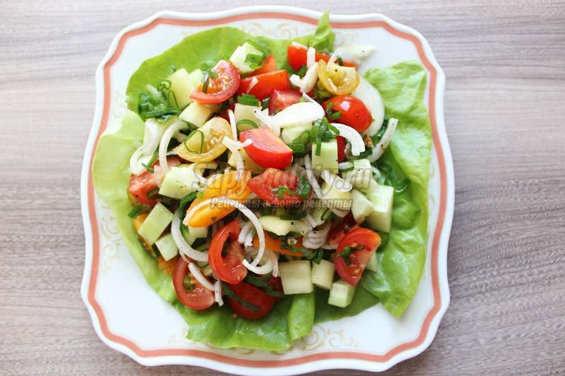 Настоящий рецепт греческого салата с фото