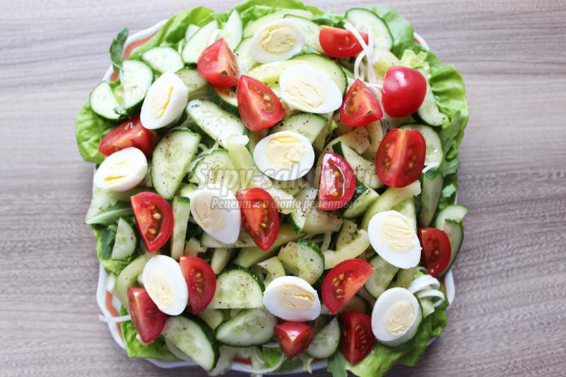 салат из тунца консервированного рецепт