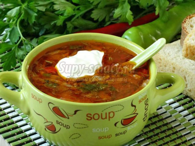 Красный окуньы суп