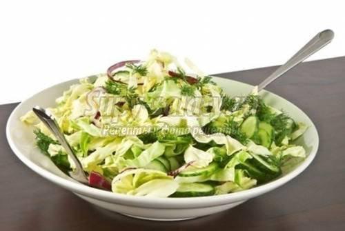 Рецепты вкусных салатов из капусты. Лучшие идеи с фото