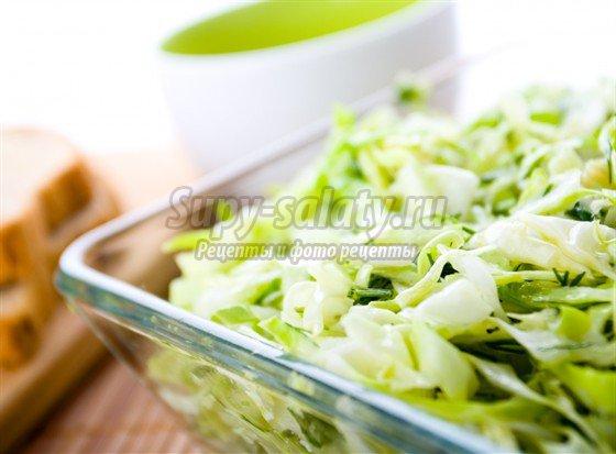 Салат из капусты с уксусом - вкусно, просто, быстро