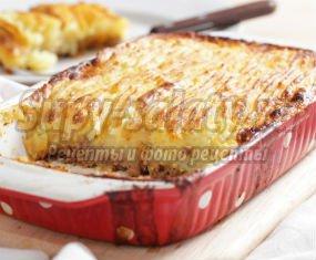 Запеканка из картофеля в духовке - сытно и вкусно