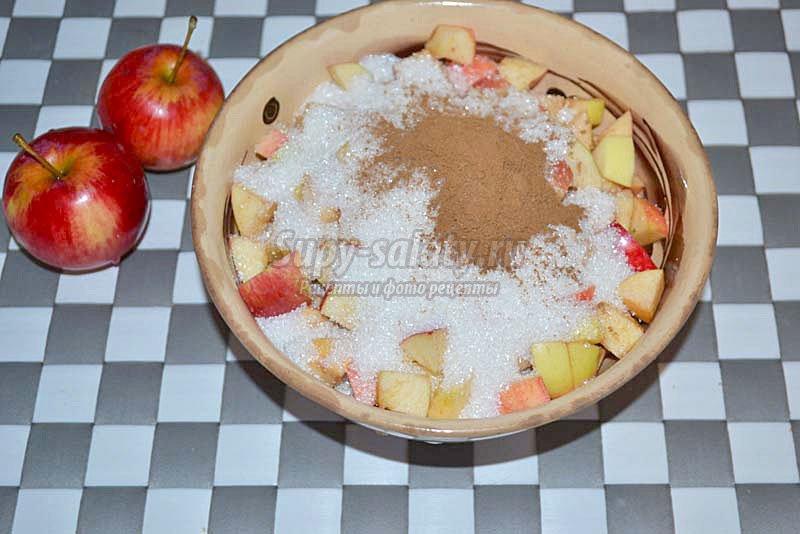 яблочный рулет рецепт