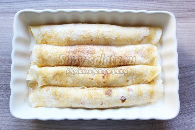 Блины с творогом рецепт с пошаговым на кефире