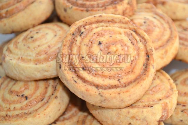 вегетарианское творожное печенье. Розочки