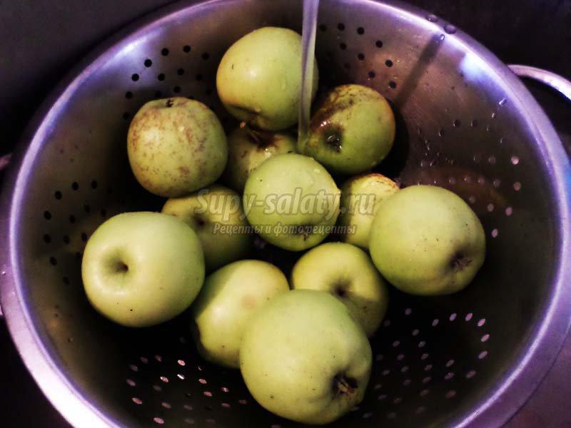 компот из яблок с апельсинами на зиму