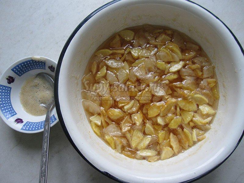 варенье из яблок рецепты