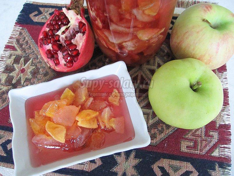 прозрачное варенье из яблок