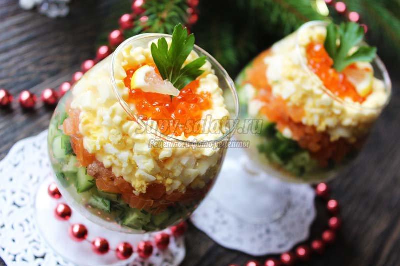 салат из морепродуктов рецепт