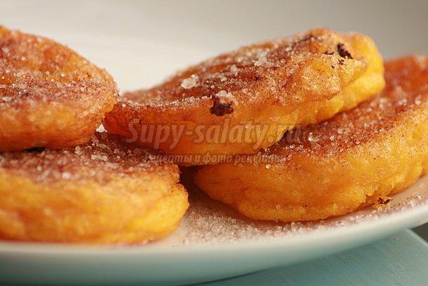 Оладьи из тыквы: рецепты для хозяюшек