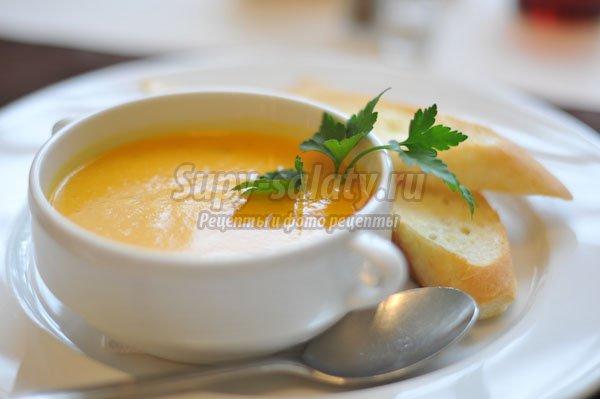 Крем-суп из тыквы. Лучшие рецепты с фото.