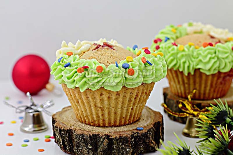 рождественский кекс фото