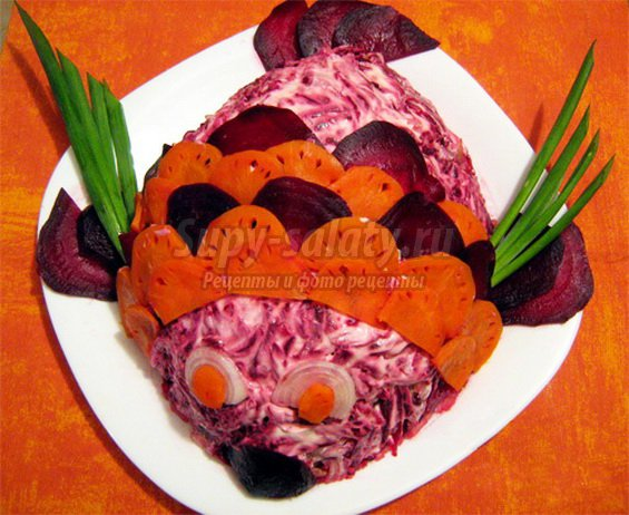 Сельдь под шубой: вариации традиционного салата