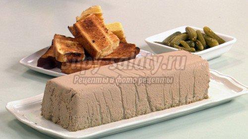 рецепты паштета из печени с пошаговыми фото.