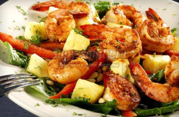 Салат с креветками: вкусные рецепты с фото