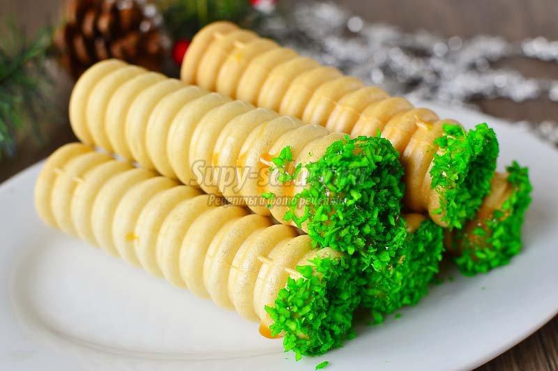 закуска в вафельных трубочках рецепт с фото