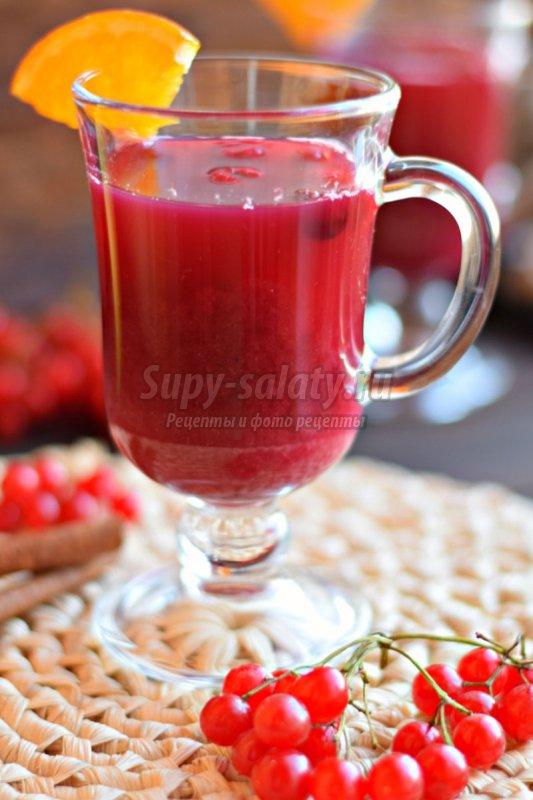 Напиток из клюквы рецепт