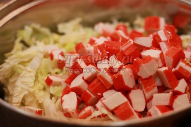 колбаса из крабовых палочек рецепт