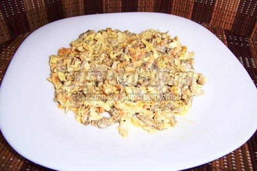 салат с блинчиками: популярные рецепты с фото