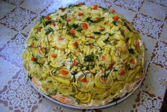 Вкусные салаты рецепты с отзывами и
