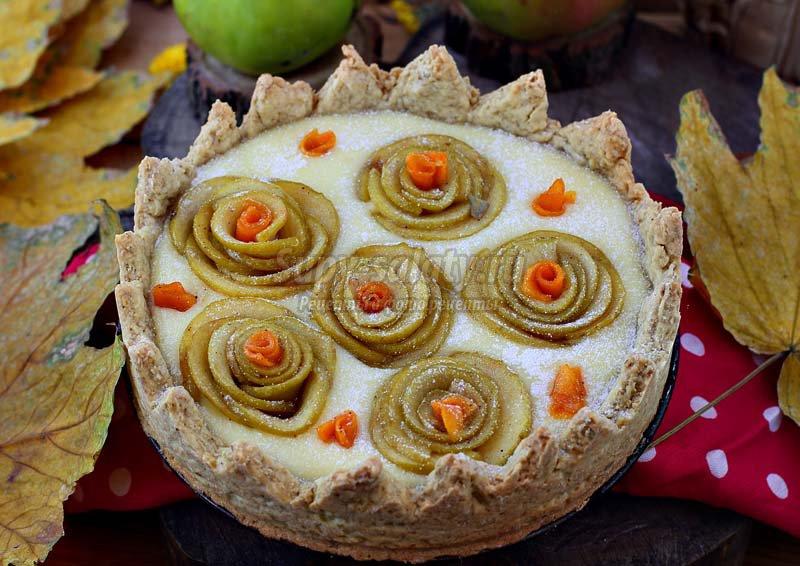 пирог с тыквой и творогом простой рецепт