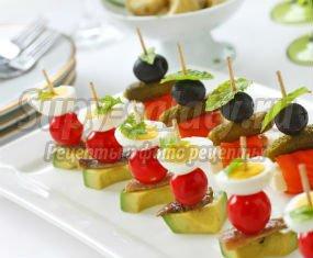 Вкусные бутерброды на праздничный стол: фото и рецепты приготовления.