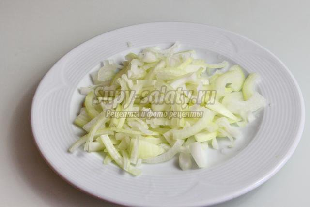 корейский мясной салат