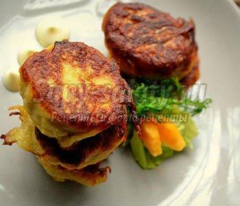 котлеты из толстолоба с картофелем и тыквой