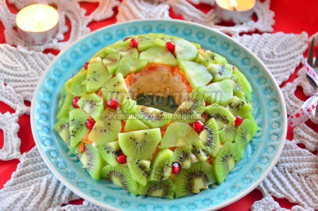 салат киви браслет рецепт с фото