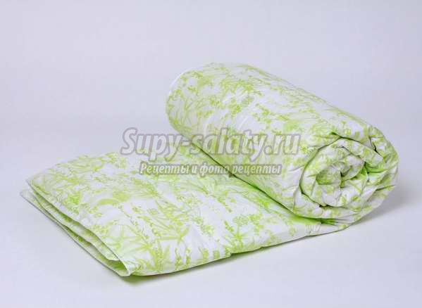 Бамбуковое одеяло: преимущества и особенности ухода