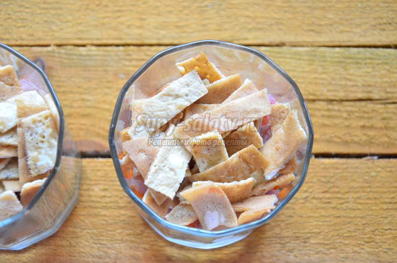 салаты с рыбой рецепты