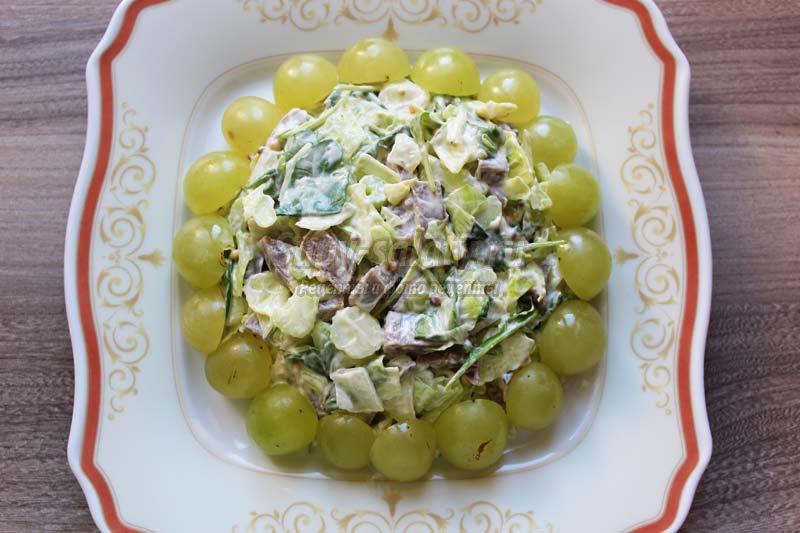 Самые простыеы салатов с яйцами
