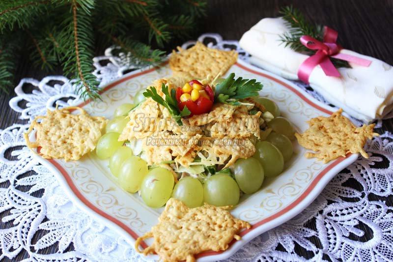 вкусный салат с языком рецепт с фото