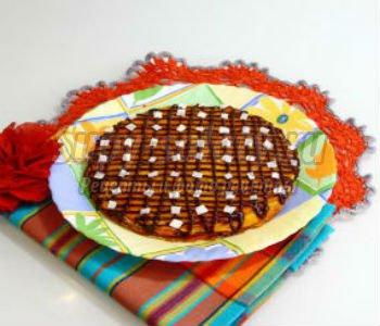 блинный пирог с тыквой