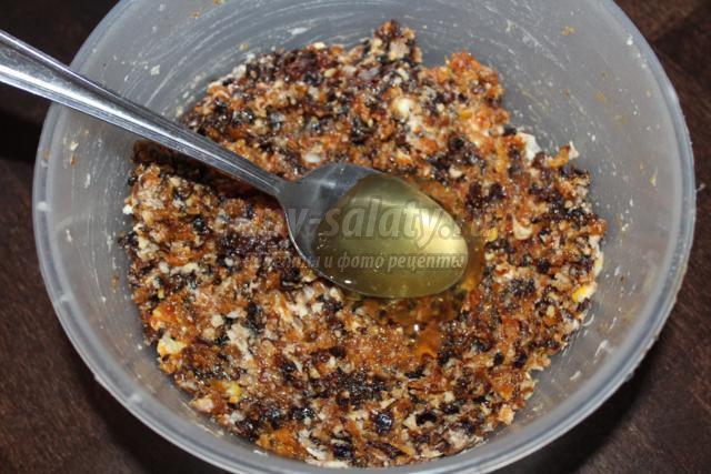 витаминные бомбочки из сухофруктов для иммунитета