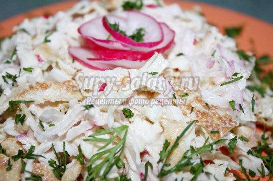 Салат из пекинской капусты рецепты с фото