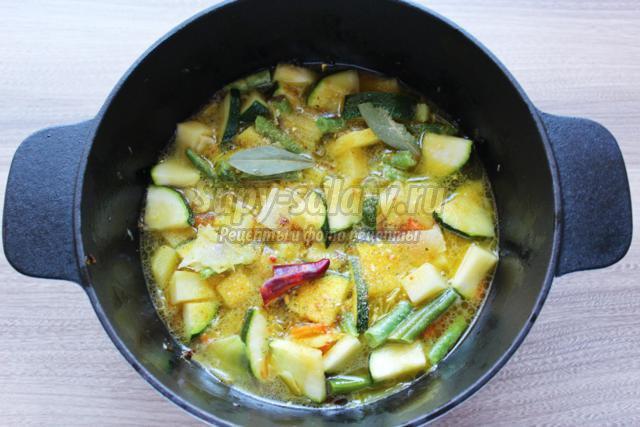 постное овощное рагу