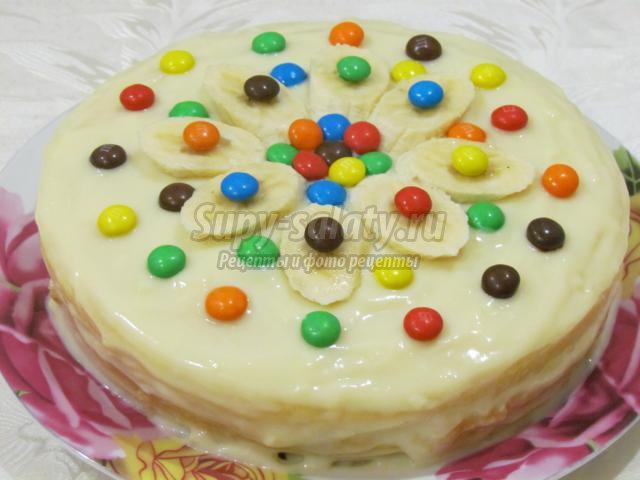Торт легкий пошаговый с фото