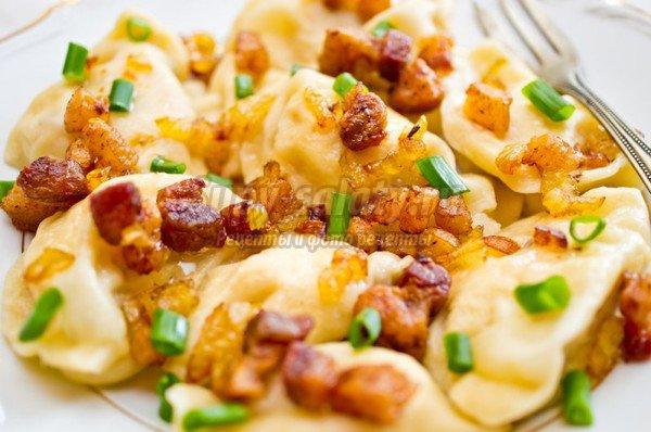 Вареники с картошкой. Лучшие рецепты с фото