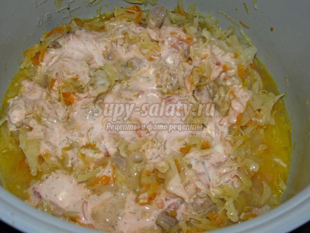 Приготовить чесночный соус к мясу